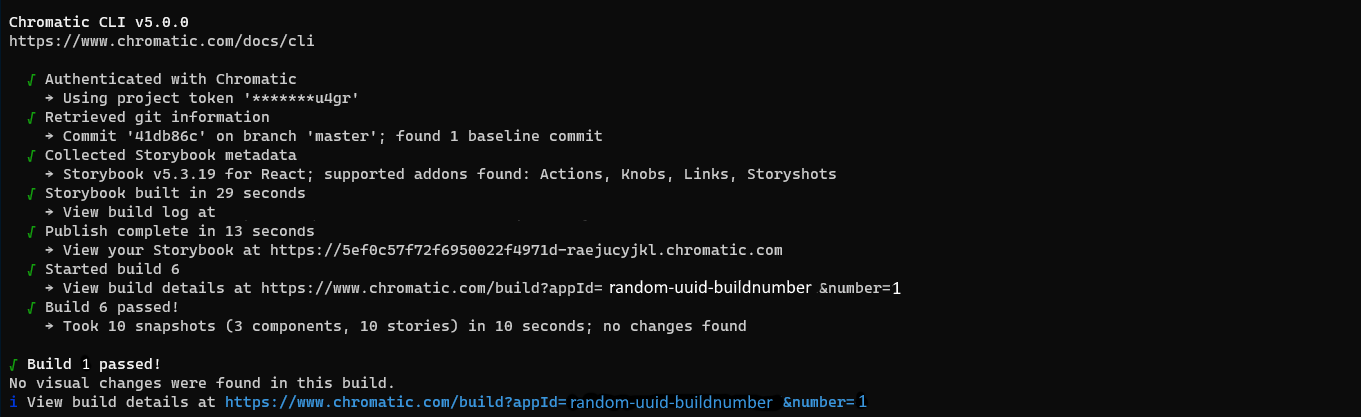 Chromatic in the command line