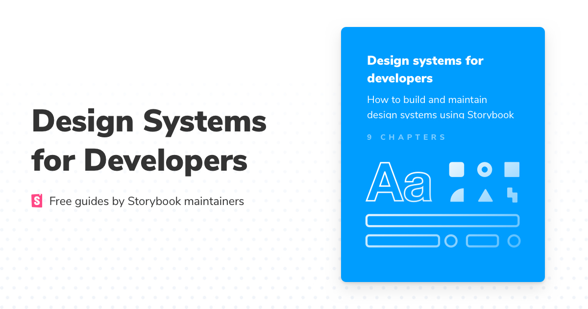 Introduction to design systems | Storybook Tutorials